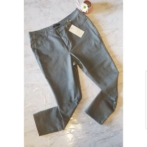 Plus Size Gray Jegging